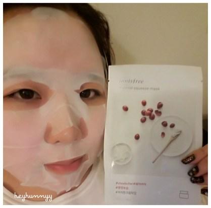 ::REVIEW:: Innisfree -Shea Butter Sheet Mask!