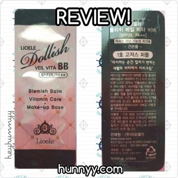 ::REVIEW: Lioele -  Veil Vita BB Cream! hunnyy