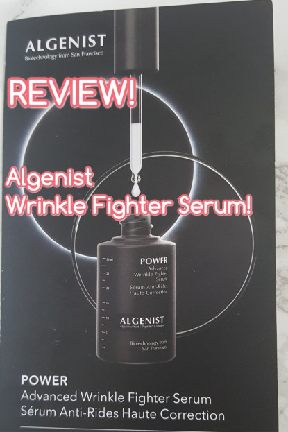 ::REVIEW:: Algenist - Advanced Wrinkle Fighter Serum!