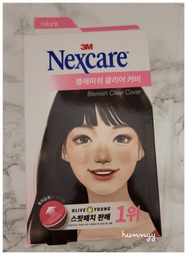 ::REVIEW:: Nexcare - Blemish Clear Cover hunnyy