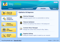 Glary Utilities user interface image