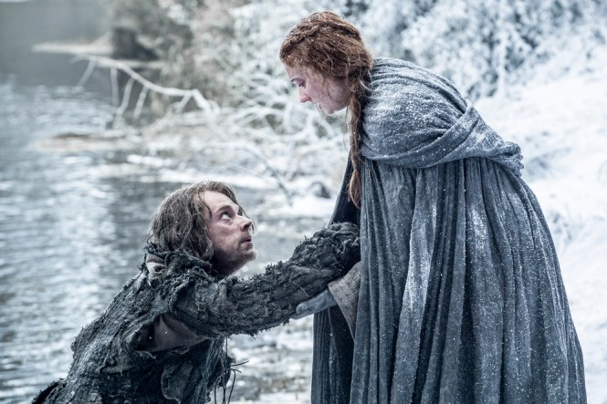 Sansa help Theon Season 6