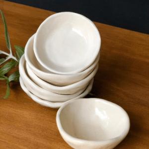 Handmade Ceramics Australia - Ceramic pinch pot hunter and the fox
