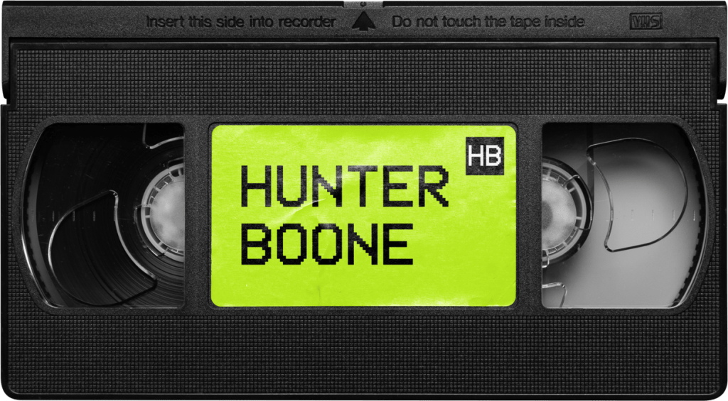 hunter boone vhs tape
