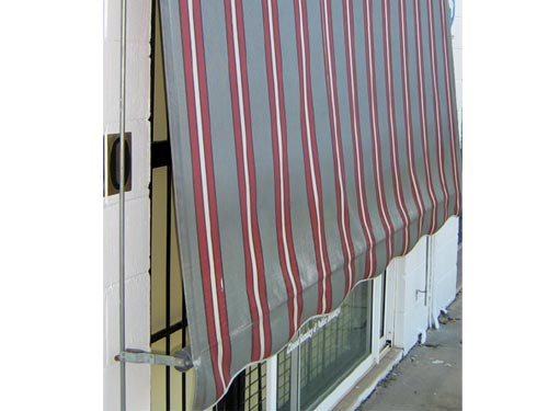 Exterior Canvas Awnings Amp Roll Up Outdoor Blinds Hunter