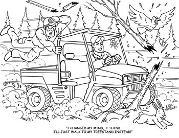 Camo Hunting Coloring Pages Coloring Pages