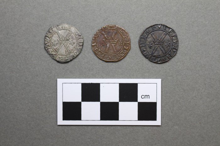 Three coins