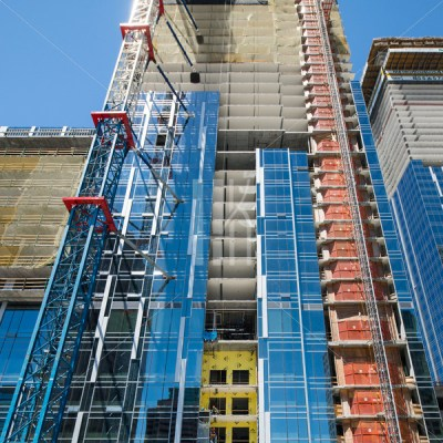 Metropolis Towers Glass Construction – Hunter Kerhart | Los Angeles Architectural Photographer