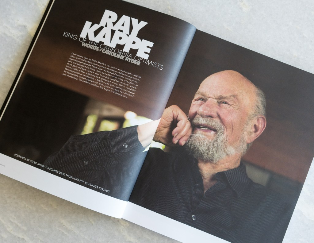 Ray Kappe Treats! Magazine