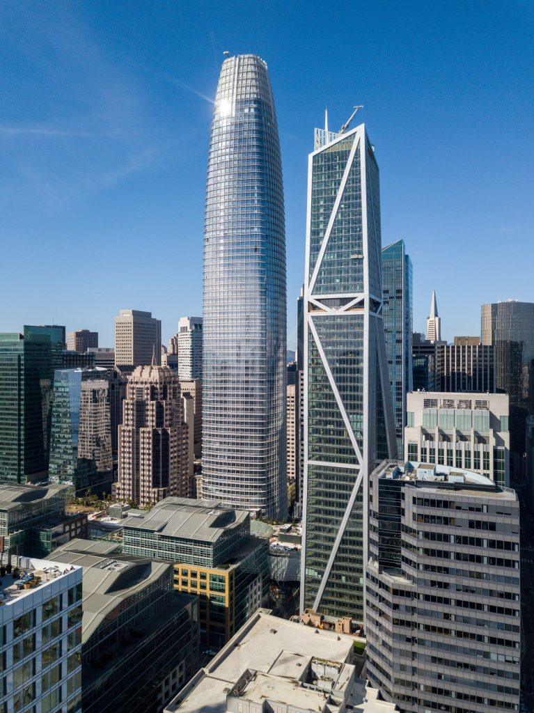 Salesforce Tower by San Francisco Architectural Photographer Hunter Kerhart