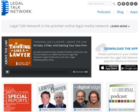 1.TheLegalTalkNetwork.