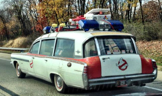 I encountered The Ghostbusters' Crew on I-81 South near Carlisle, Pa.