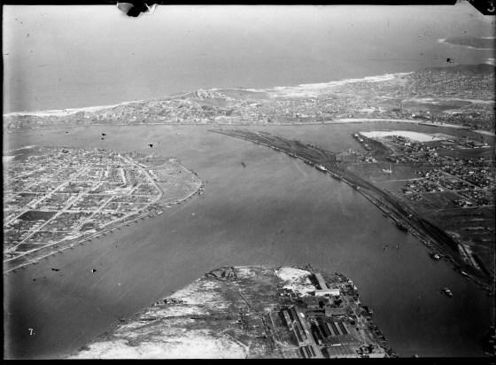 Newcastle aerial, 1930 (Image 57 Courtesy of Phillip Warren)