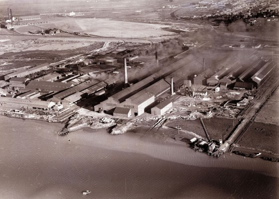 Newcastle aerial, 1935 (Image 65 Courtesy of Phillip Warren)