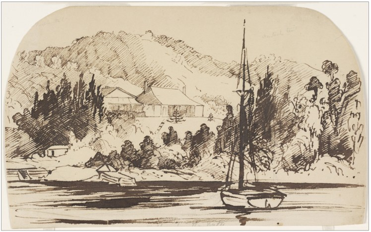 22c. [Tahlee?] from the water. (Courtesy of State Library of NSW)