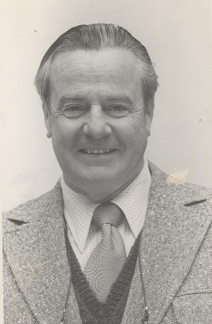 Professor Ray Walker, the University of Newcastle, Australia. 1980s.