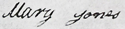 Molly's signature on marriage certificate - ( Walter Allan Wood Research Papers, A6632, University of Newcastle Cultural Collections)
