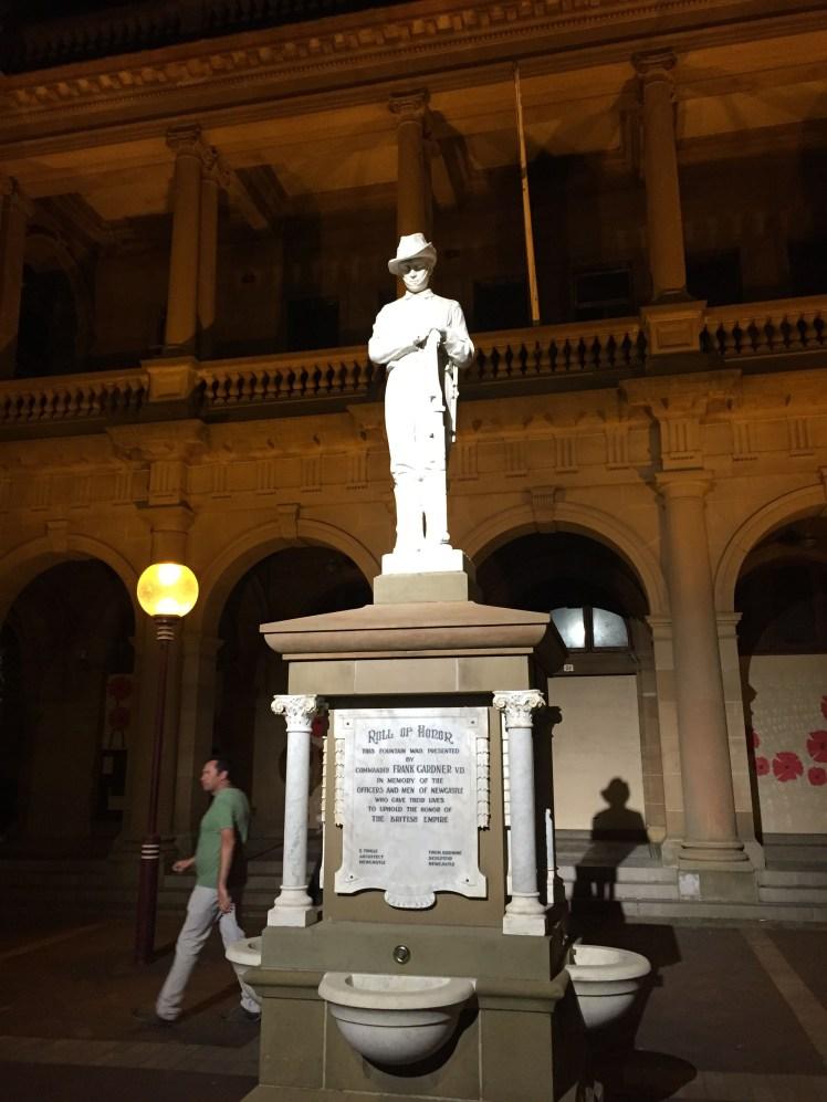 Gardner Memorial Statue