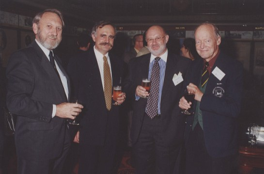 Prof Godfrey at a Uni event