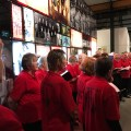 People's Chorus Choir at the RAD exhibition official launch held on Tuesday 4th July, at the Newcastle Museum. [Credit: Gionni Di Gravio]