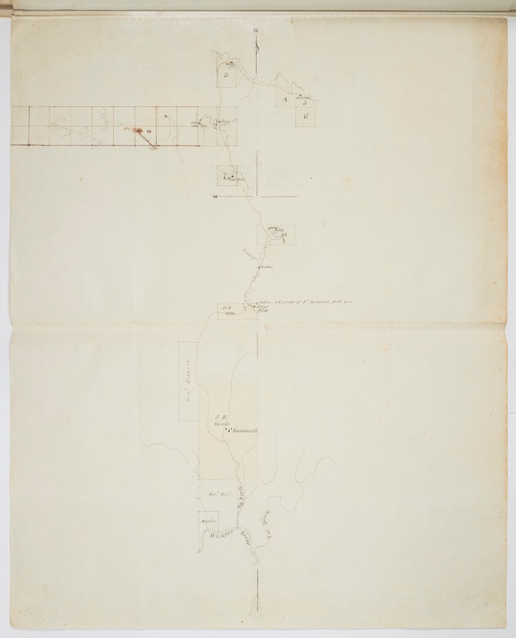 Ravensworth boundary map Dumareq v Bowman 2