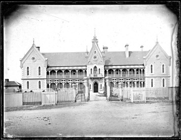 Newcastle Hospital, Newcastle East, NSW, 28 October 1885