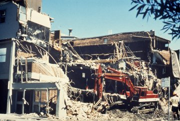 Earthquake - Demolition - Old Newcastle Workers Club, NSW