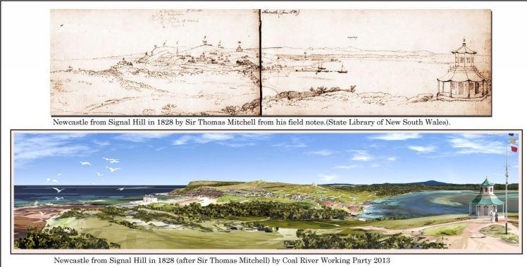 Newcastle Landscape 1828