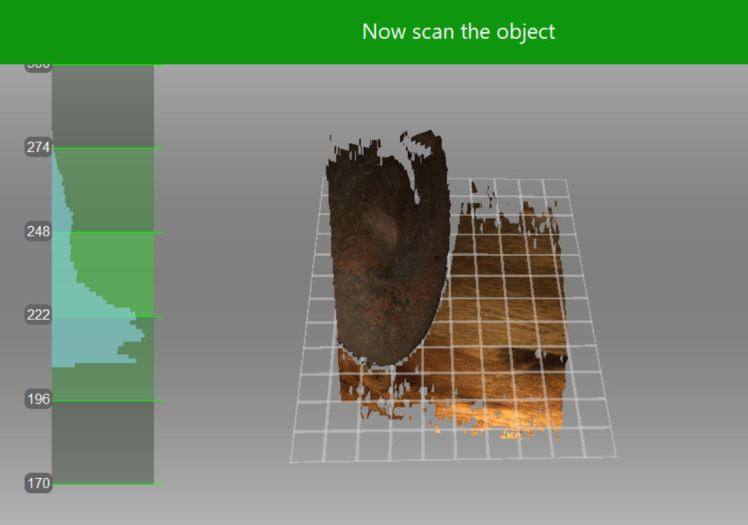2. Preview mode - 3D scanning