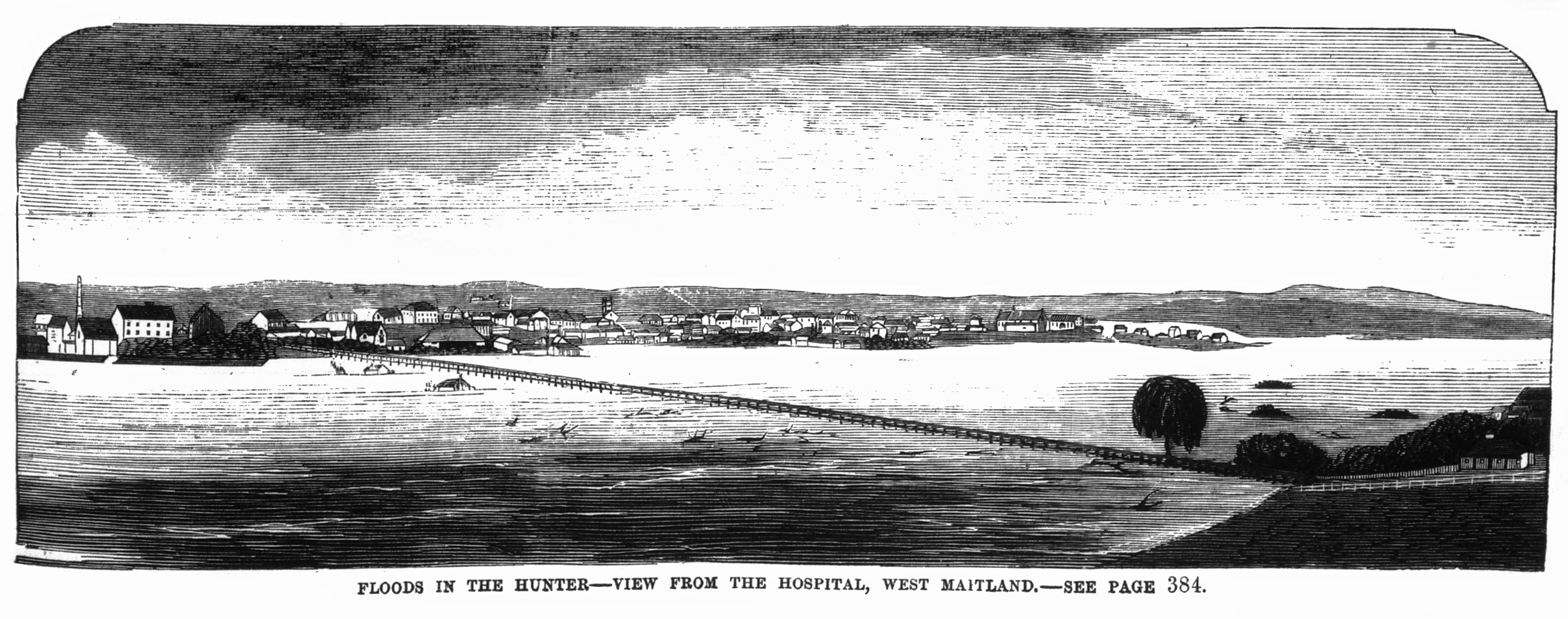 Floods in the Hunter (1870) – Hunter Living Histories
