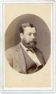 """Captain Magnient of """"la paix"""", 22/11/1874"""