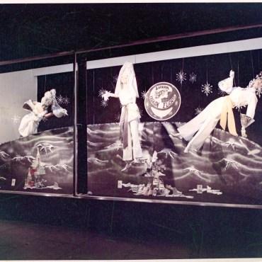 'Moon Landing' inspired display - The Store, Newcastle West. NSW. 1969