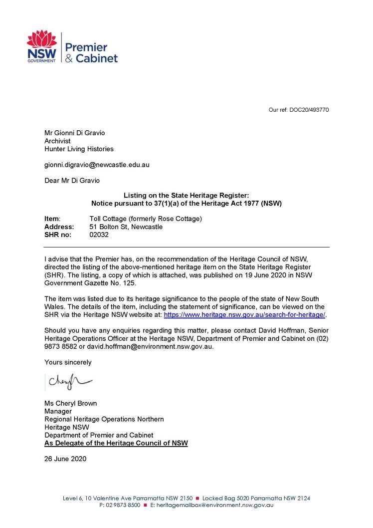 S37(1)(a) Letter to G di Gravio_Page_1