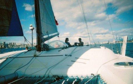 Sailing near Grand Canaria
