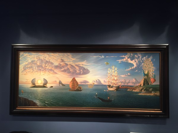 Vladimir Kush Opens In Soho Nyc Hunter' Hot