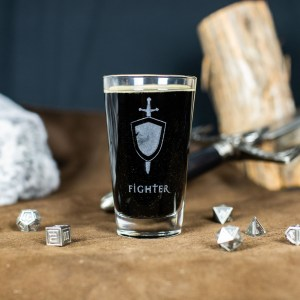 Fighter Pint Glass