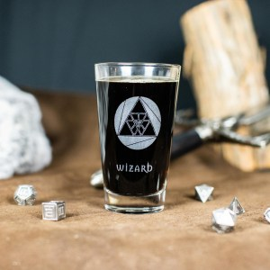 Wizard Pint Glass