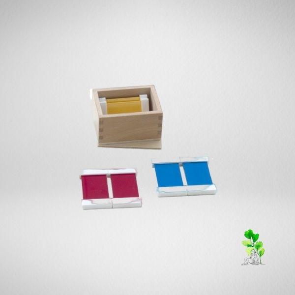 HuntersWoodsPH Checklist Sensorial Montessori Materials Toddler Preschool Color Tablets Box 1