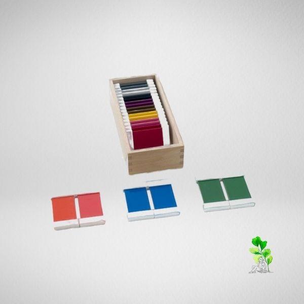 HuntersWoodsPH Checklist Sensorial Montessori Materials Toddler Preschool Color Tablets Box 2