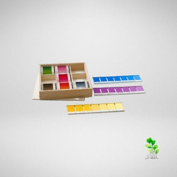 HuntersWoodsPH Checklist Sensorial Montessori Materials Toddler Preschool Color Tablets Box 3