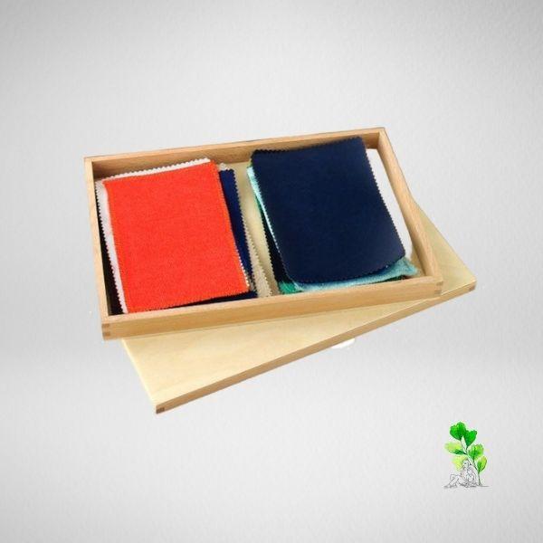 HuntersWoodsPH Checklist Sensorial Montessori Materials Toddler Preschool Fabric Box
