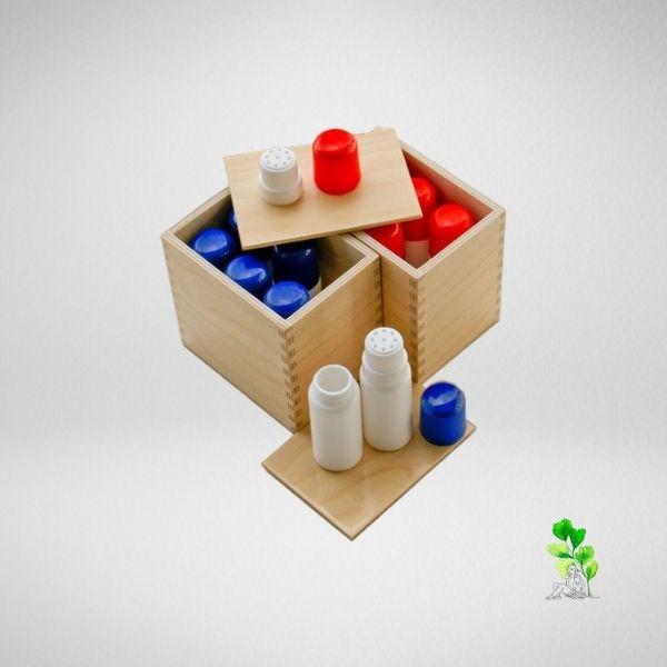 HuntersWoodsPH Checklist Sensorial Montessori Materials Toddler Preschool Smelling Bottles