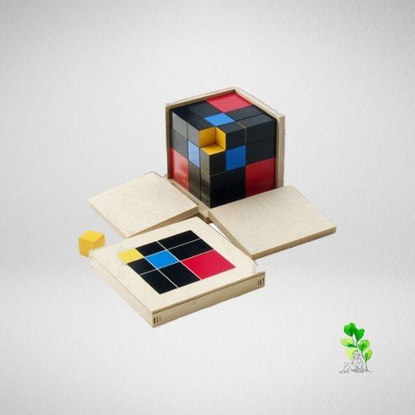 HuntersWoodsPH Checklist Sensorial Montessori Materials Toddler Preschool Trinomial Cube