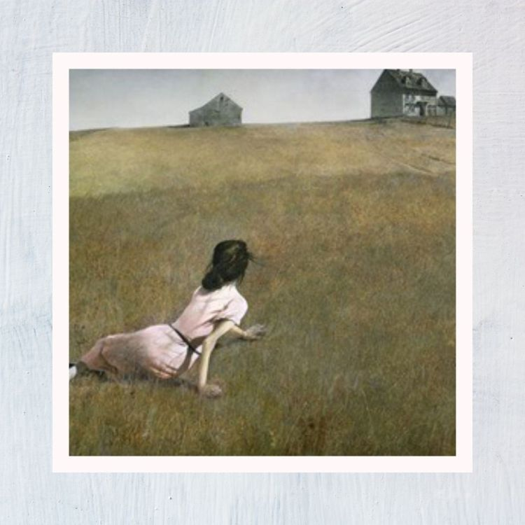 HuntersWoodsPH Montessori Culture Art Paintings Andrew Wyeth Christinas World