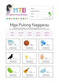 Pulong Naggaray Worksheet