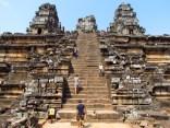 The Steps of Phnom Bakheng, Siem Reap