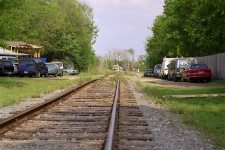 Typical shot of the right of way