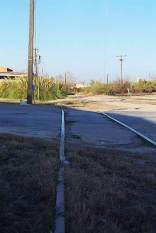 The Industrial Boulevard grade crossing