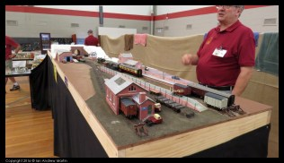 The goods shed - all built using card and paper products
