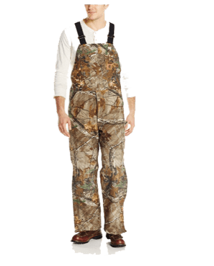 Carhartt Men's Big & Tall Quilt Lined Camo Bib Overalls
